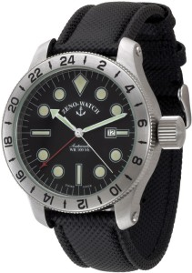 Jumbo GMT (Dual Time with bezel ring)