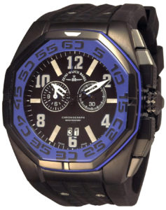 Neptun 5 Chrono Big Date blue