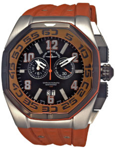 Neptun 5 Chrono Big Date orange