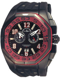 Neptun 5 Chrono Big Date red