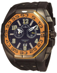 Neptun 5 Chrono Big Date yellow