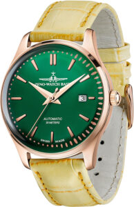 Jules Classic Automatic 40 green+rose