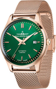 Jules Classic Automatic 40 green+rose Mesh