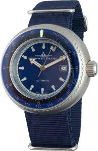 Deep Diver Tachymeter blue