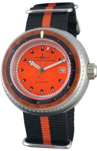 Deep Diver Tachymeter orange