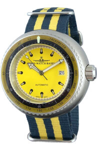 Deep Diver Tachymeter yellow