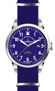 Navigator Nato Quartz, blue