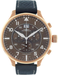 Super Oversized Chrono Big Date Navigator brown