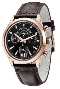 Gentleman Chronograph Big Date Q gold plated