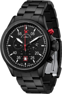 Speed Navigator Chronograph black-red
