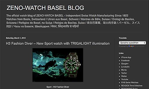 Blog Zeno-Watch Basel